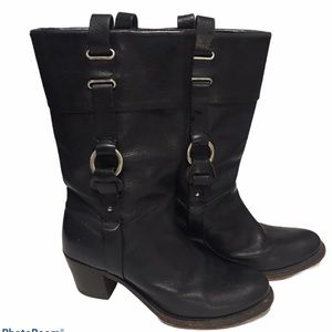 FRY BLACK BOOTS